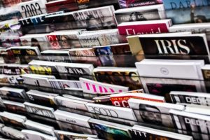 There are many magazines