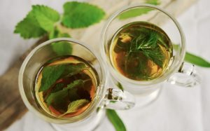 two herb tea