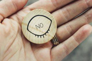 Wooden figurine marked No