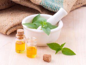 Mashing herbs
