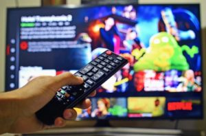 Changing channel with remote control