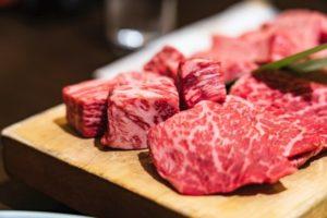 High class meat